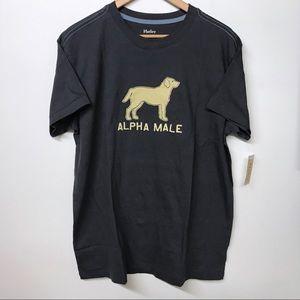 "Hatley ""Alpha Male"" Large T-shirt NWT"